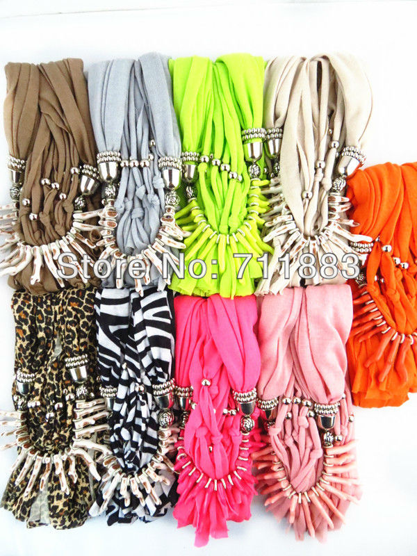 2014 New Spring Fashion Pendant Scarf Coral accessories Free shipping(China (Mainland))