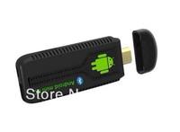 Free Shipping Bluetooth Android 4.1MINI PC TV BOX Dual Core RK3066 1.6GHZ Cortex A9 1G/8G WIFI HDMI 1080P Google TV Dongle