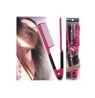 Min. order is $10 (mix orderz)Free shipping 1pcs DIY Salon Folding Hair dress Hairdressing Styling Hair Straightener V Comb Tool