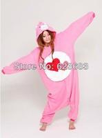 Carnival Anime Cartoon Care Bear Adult Unisex Pajamas,Winter&autumn hooded Pyjamas,Cosplay Costume one piece