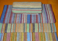6296 in the towel bohemia 68 33 stripe towel washouts 75g