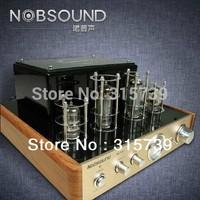 20% off, hot!, Ms-10d, hifi, tube amplifier, amplifier, audio power amplifier, nobsound, wooden frame, brushed metal front panel