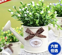 Bonsai home decoration wall hanging-flower pot  props artificial flower
