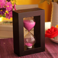 Wool hourglass timer decoration ornaments glass products gift-decoration