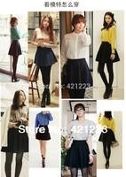 Free shipping, New Skater Stretch Waist Plain Flippy Flared Pleated Jersey Short Skirt Sundress,5pcs/lot,hot sale