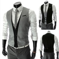 2014 New 2014 style fashion  mens vest  Business suit vests  Casual  tank top ,brand undershirt