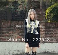 Hot Sale Women Fashion Blouse Collar Button Chiffon New Beautiful Design Free Shipping