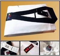 Champion1 taekwondo uniforms/ suits/ dobok size 160,170,180,190, white with black colar