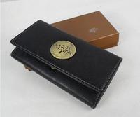 Fashion normic mulbe PU vintage medium-long wallet women's wallet multicolor