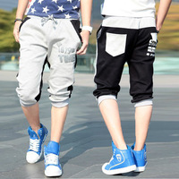 2014 capris Men Harem pants Sports shorts Health pants Casual Hip hop pants
