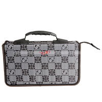 New Portable Rectangle Square Grid Pattern 200 Disc CD DVD Storage Bag Holder Case  From USA