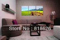 3 Panel Peace Countryside Farm Landscape Living Room Wall Painting Canvas Printed Picture Art Home Decor Hanging Modern Pt758