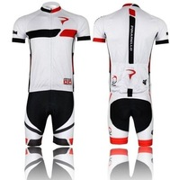 2014 Bicycle Cycling Sports Short Sleeve Jersey Clothes & Pad Shorts & Suits