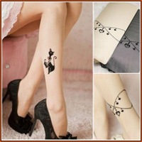 new arrival good quality drop shipping sexy lingerie for woman sexy beautiful pattern ultra-thin pantyhose stockings 8398/8399