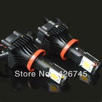 Free Shipping High Quality High Lumens 1800lm/unit 3600lm/set Cree Chip H8 LED headlight 25W/unit 50W/set