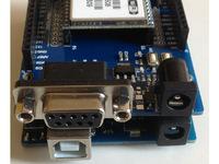 cduino Board Shield Wifi Module 3 In 1 Uart Serial Port Stack Extension Gameduino UNO R3 Tank Car Chassis Remote Control Diy Kit