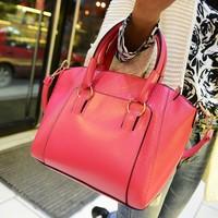 2014 New Fashion Hot Sale casual leopard print bags one shoulder handbag women's handbag leather messenger bag F2010