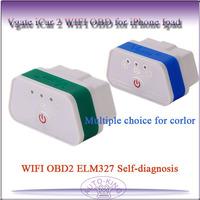 Vgate iCar 2 WIFI OBD2 ELM327 Self-diagnosis for iPhone Ipad  free shipping