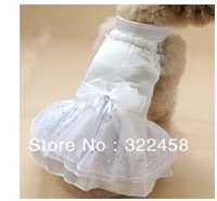 Pet wedding dress Princess