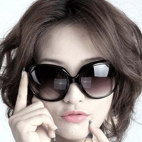 Classic fashion women sunglasses sun glasses design brand dodechedron mirror multicolor