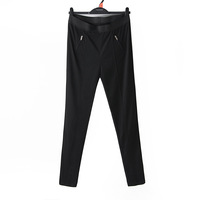 D1-02 mm plus size clothing 2014 spring casual pants skinny legging pants