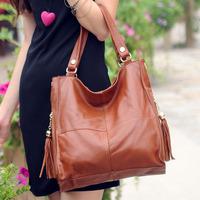 hot selling europe style Women's handbag pu leather fashion woman womans message bag women handbags
