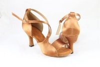 BBS-1AXC173 gold heel adult fashion  women sandals chacha latin dance shoes,ladies ballroom shoes, female athlete shoes latin