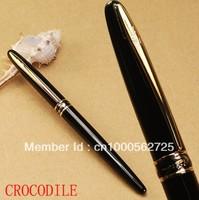 CROCODILE 215 Fine nib black fountain pen free shipping