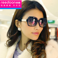 2014 small women's sunglasses fashion sun glasses big box myopia sunglasses large female sunglasses