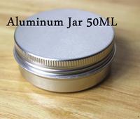 100Pcs/Lot 50ML/50g  68*25mm Aluminum Cosmetic Box Cream Jar