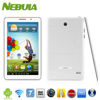 7inch P1000 2G Phone call GPS tablet GSM dual SIM card slots MTK 6572 Dual-core android 4.2 Bluetooth FM Free shipping