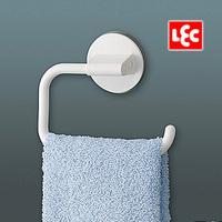 Lec bathroom strong suction cup suction wall towel hook plastic slip-resistant bathroom towel rack