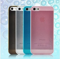 For iphone  5 mobile phone case protective case  for apple   5 5 ultra-thin crystal  for apple   colorful