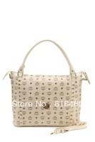 fashion purse Korea brand mc totes bags women handbag leather+rivets Classic  high quality  handbags dropshipping free shipping