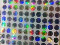 QC PASSED flash stickers 1 cm in diameter, 1200 PCS/LOT