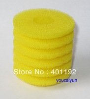 free shipping ( 12 pcs / pack )  Aquarium biochemical sponge cotton filter Fish tank accessories