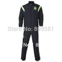 new arrival Spain black Presentation Suit National team Spain Presentation Suit 2014 Size: S - XL