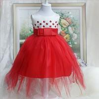 Free Shipping 2014 flower girl  formal dress  wedding performance dress  girls paty dress