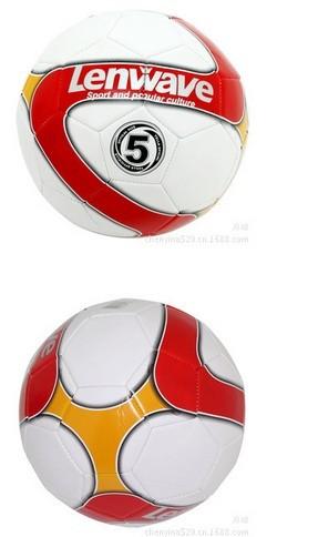 Free shipping 038 Adult football man 5 standard football sewing machine super-fibre football(China (Mainland))