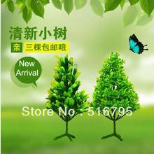 Árvore artificial 4 tipos diferentes Verde bonsai planta casa decoração planta artificial bonsai(China (Mainland))