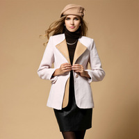 fashion women 2014 clothes down & parkas,spring womancoats,british style pink coat,free shipping 1121D5258