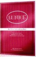 FREE SHIPPING EUNICE Red Wine Anti-oxidizing Paper Mask (3 sheets) / Highly oxidizing for skin whitening & Wrinkle removal