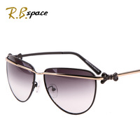 R.B space polarized Fashion personality women's sun glasses fashion star style vintage sunglasses anti-uv sunglasses