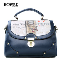 Bags 2013 women's messenger bag fashion handbag cartoon print handbag