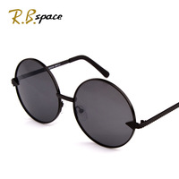 rb space polarized 2014 women's sunglasses trend of the elegant circular frame arrow fashion female metal embellishment