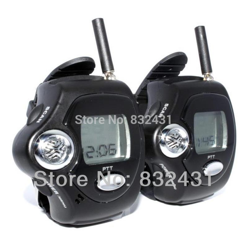 1Pair ( 2 pieces ) Brand New wrist watch walkie talkie two way radio talkie walkie Free Talker RD-820(China (Mainland))