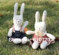 whole sales,Valentine's day gifts, plush toys tiramisu bugs bunny rabbit rabbit doll creative home textile