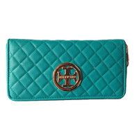 Free delivery 2014 PU Leather Women Wallet Ladies long wallet, Ling the grid coin holder Purse money bag