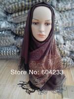 LZ03 wholesale free shipping fashion design muslim women hijab long scarf