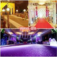 Flashing starlight pearl carpet t wedding props